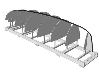 B c a demco tecniche di costruzione di barche in legno for Piani di struttura esterna